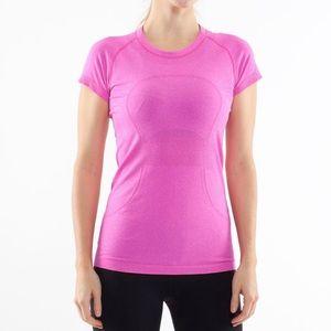 ‼️Lululemon Swiftly Tech Shirt Sleeve Top Pink/A75